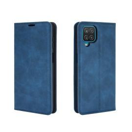 """Tamsiai mėlynas atverčiamas dėklas Samsung Galaxy A426 A42 """"Business Style"""""""
