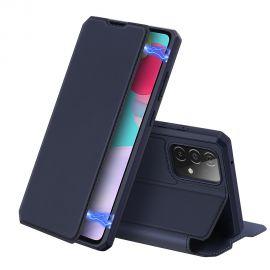 """Tamsiai mėlynas atverčiamas dėklas Samsung Galaxy A525 A52 / A526 A52 5G """"Dux Ducis Skin X"""""""
