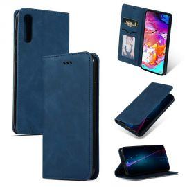 """Tamsiai mėlynas atverčiamas dėklas Samsung Galaxy A705 A70 """"Business Style"""""""