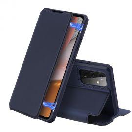 """Tamsiai mėlynas atverčiamas dėklas Samsung Galaxy A725 A72 / A726 A72 5G """"Dux Ducis Skin X"""""""