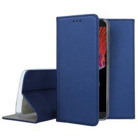 """Tamsiai mėlynas atverčiamas dėklas Samsung Galaxy G525 Xcover 5 """"Smart Magnet"""""""