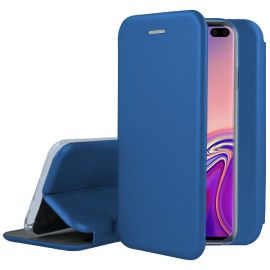 """Tamsiai mėlynas atverčiamas dėklas Samsung Galaxy G975 S10 Plus """"Book Elegance"""""""