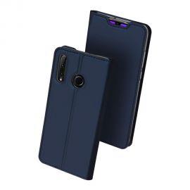 """Tamsiai mėlynas atverčiamas dėklas Samsung Galaxy Huawei Honor 20 Lite """"Dux Ducis Skin Pro"""""""