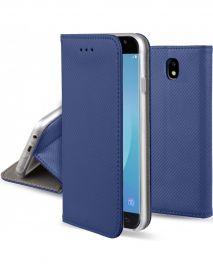 """Tamsiai mėlynas atverčiamas dėklas Samsung Galaxy J530 J5 2017 """"Smart Magnet"""""""