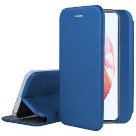 """Tamsiai mėlynas atverčiamas dėklas Samsung Galaxy S21 Plus """"Book Elegance"""""""