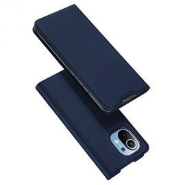 """Tamsiai mėlynas atverčiamas dėklas Xiaomi Mi 11 """"Dux Ducis Skin Pro"""""""