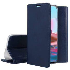 """Tamsiai mėlynas atverčiamas dėklas Xiaomi Redmi Note 10 / Redmi Note 10S """"Smart Magnetic"""""""