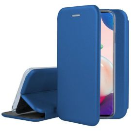 """Tamsiai mėlynas atverčiams dėklas Samsung Galaxy A725 A72 """"Book Elegance"""""""