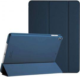 """Tamsiai mėlynas dėklas Apple iPad Air 10.9 2020 """"Smart Leather"""""""