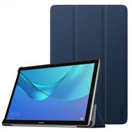 """Tamsiai mėlynas dėklas Huawei MediaPad M5 10.8 """"Smart Leather"""""""