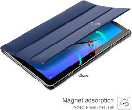"""Tamsiai mėlynas dėklas Huawei MediaPad T3 10.0 """"Smart Leather"""""""