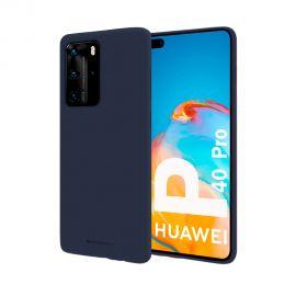 """Tamsiai mėlynas dėklas Huawei P40 Pro """"Mercury Soft"""""""