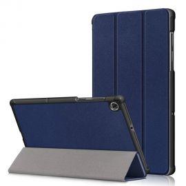 """Tamsiai mėlynas dėklas Lenovo Tab M10 Plus X606 10.3 """"Smart Leather"""""""