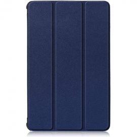 """Tamsiai mėlynas dėklas Lenovo Tab M10 X505 / X605 10.1 """"Smart Leather"""""""