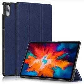 """Tamsiai mėlynas dėklas Lenovo Tab P11 Pro """"Smart Leather"""""""