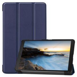 "Tamsiai mėlynas dėklas Samsung Galaxy T290 / T295 Tab A 8.0 2019 ""Smart Leather"""