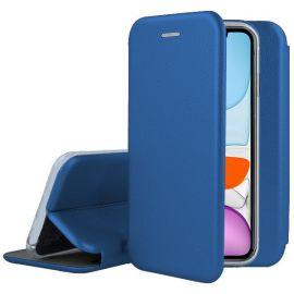 """Tamsiai mėlynos spalvos atverčiamas dėklas Apple iPhone 11 """"Book Elegance"""""""