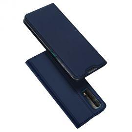 """Tamsiai mėlynos spalvos atverčiamas dėklas Huawei P Smart 2021 / Y7a / Honor 10X Lite """"Dux Ducis Skin Pro"""""""