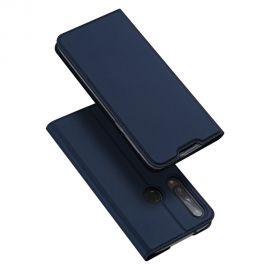 """Tamsiai mėlynos spalvos atverčiamas dėklas Huawei P40 Lite E / Y7 P """"Dux Ducis Skin Pro"""""""