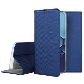 """Tamsiai mėlynos spalvos atverčiamas dėklas Huawei P40 """"Smart Magnet"""""""