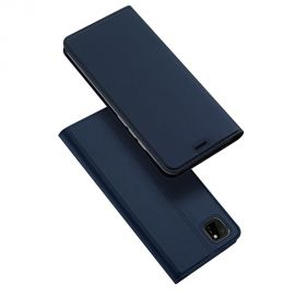 """Tamsiai mėlynos spalvos atverčiamas dėklas Huawei Y5P / Honor 9S """"Dux Ducis Skin Pro"""""""
