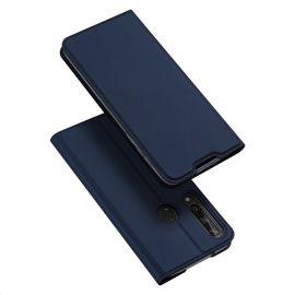 """Tamsiai mėlynos spalvos atverčiamas dėklas Huawei Y6P """"Dux Ducis Skin Pro"""""""