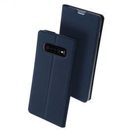 """Tamsiai mėlynos spalvos atverčiamas dėklas Samsung Galaxy G973 S10 """"Dux Ducis Skin Pro"""""""
