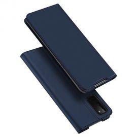"""Tamsiai mėlynos spalvos atverčiamas dėklas Samsung Galaxy G981 S20 """"Dux Ducis Skin Pro"""""""