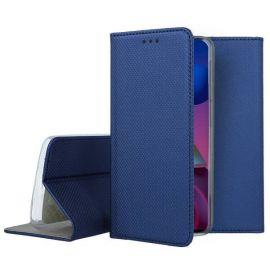 """Tamsiai mėlynos spalvos atverčiamas dėklas Samsung Galaxy M51 """"Smart Magnet"""""""