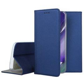 """Tamsiai mėlynos spalvos atverčiamas dėklas Samsung Galaxy Note 20 Ultra """"Smart Magnet"""""""