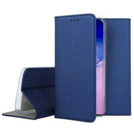 """Tamsiai mėlynos spalvos atverčiamas dėklas Samsung Galaxy S10 Lite / A91""""Smart Magnet"""""""