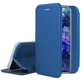 """Tamsiai mėlynos spalvos atverčiamas dėklas Samsung Galaxy S20 FE """"Book Elegance"""""""