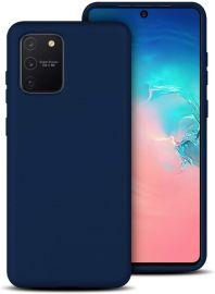 """Tamsiai mėlynos spalvos dėklas Samsung Galaxy S10 Lite / A91 """"X-level Dynamic"""""""