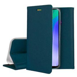 """Tamsiai žalias atverčiamas dėklas Huawei Y6P """"Smart Magnetic"""""""