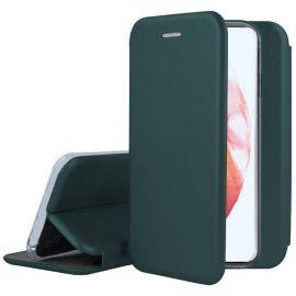 """Tamsiai žalias atverčiamas dėklas Samsung Galaxy S21 Plus """"Book Elegance"""""""