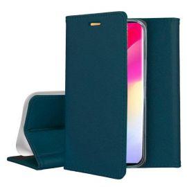 """Tamsiai žalias atverčiamas dėklas Xiaomi Mi Note 10 Lite """"Smart Magnetic"""""""