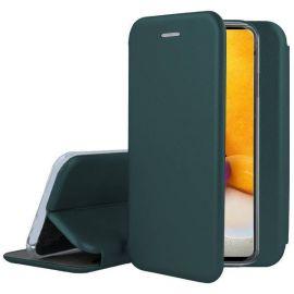 """Tamsiai žalias atverčiams dėklas Samsung Galaxy A725 A72 """"Book Elegance"""""""