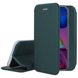 """Tamsiai žalios spalvos atverčiams dėklas Samsung Galaxy M51 """"Book Elegance"""""""