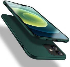 """Tamsiai žalios spalvos dėklas Apple iPhone 12 / 12 Pro """"X-level Guardian"""""""