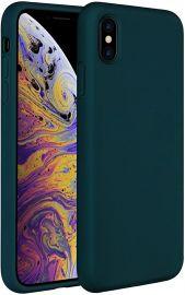 """Tamsiai žalios spalvos dėklas Apple iPhone X / XS """"X-level Dynamic"""""""