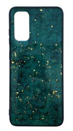 """Žalias dėklas Samsung Galaxy A515 A51 """"Marble"""""""